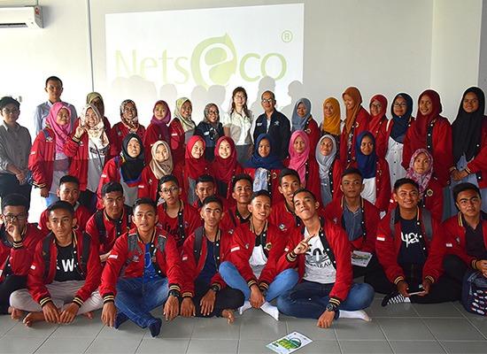 We had 40 students from Sekolah Menengah Analysis Kimia, Padang Indonesia.
