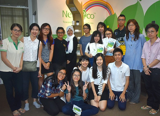 We received visit from Mass Communication students from Tunku Abdul Rahman University College.