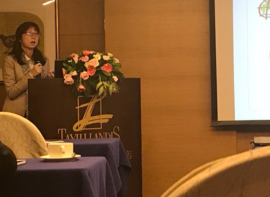"""Ms. Teh Soo Tyng presented the paper entitled: """"From Stakeholder participation to Stakeholder Engagement, Emotion leads to Action through Eco Art Festival (EAF)"""" at Eco Design 2017 Conference on 29 Nov – 1 Dec 2017 at Tayih Landis Hotel Tainan, Taiwan."""