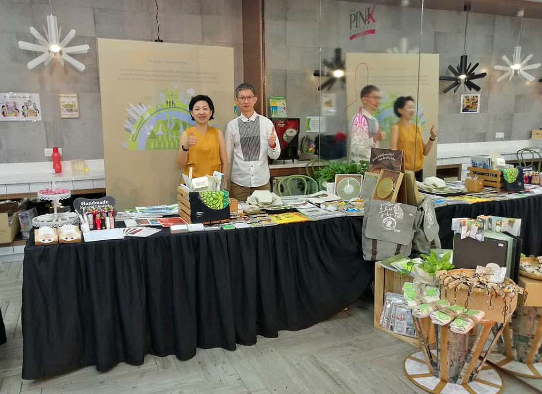 In conjunction with Earth Day Celebration in Eco World Development Group Berhad, we were invited to showcase and sell our eco products at the event. This event was conducted to spread the green awareness within the company.