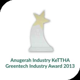 Anugerah Industry KeTTHA Greentech Industry Award 2013