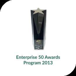 Enterprise 50 Award 2013