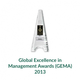 Global Excellence in Management Awards (GEMA) 2013