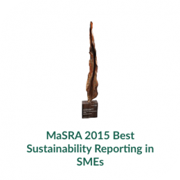 MaSRA 2015 Best Sustainability Reporting in SMEs