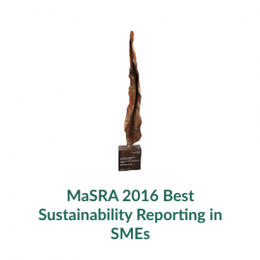 MaSRA 2016 Best Sustainability Reporting in SMEs