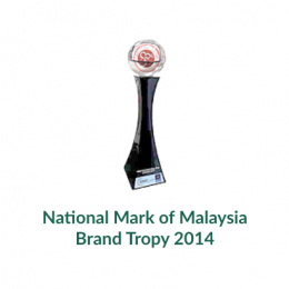 National Mark of Malaysia Brand Tropy 2014