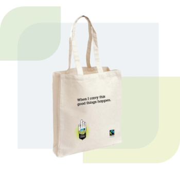 Eco bags made from 100% natural cotton material are good for promotional use. All of our plain cotton bags are made from naturally grown, ethically sourced cotton fibres. They're lightweight and can be folded flat. Cotton bags is fully reusable and biodegradable.