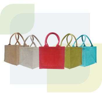 Jute is one of the strongest natural fibres with high tensile strength and low extensibility. Naturally it has some heat and fire resistance. We provide a wide variety of high quality readymade Jute Bags. Our Jute bags are biodegradable, reusable & environmentally-friendly. You can also order custom-made jute bags with your company logo or design printed on them.